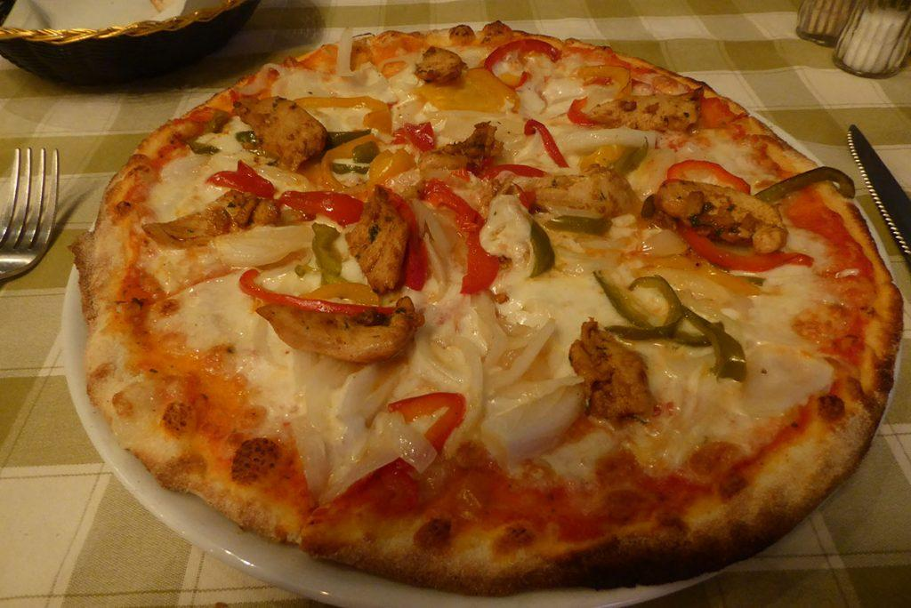 Pizza at Basilico Bangkok