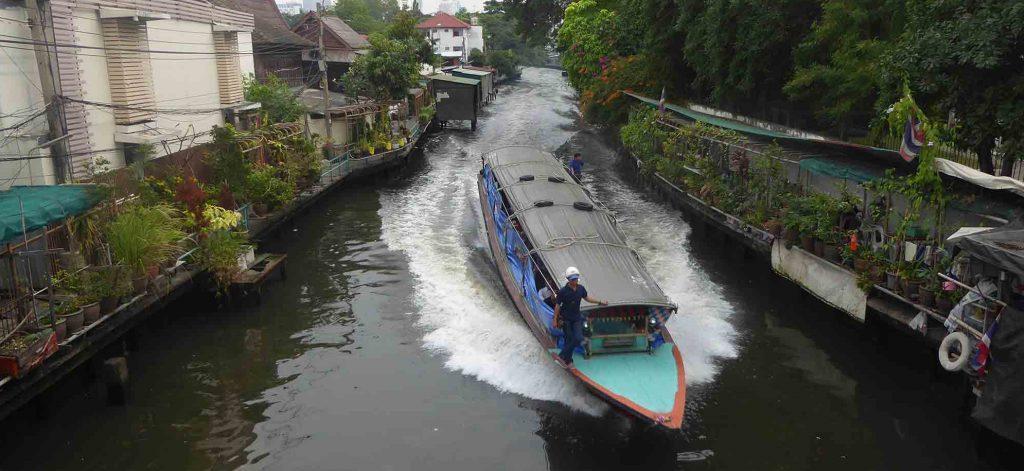 Canal Transport in Bangkok