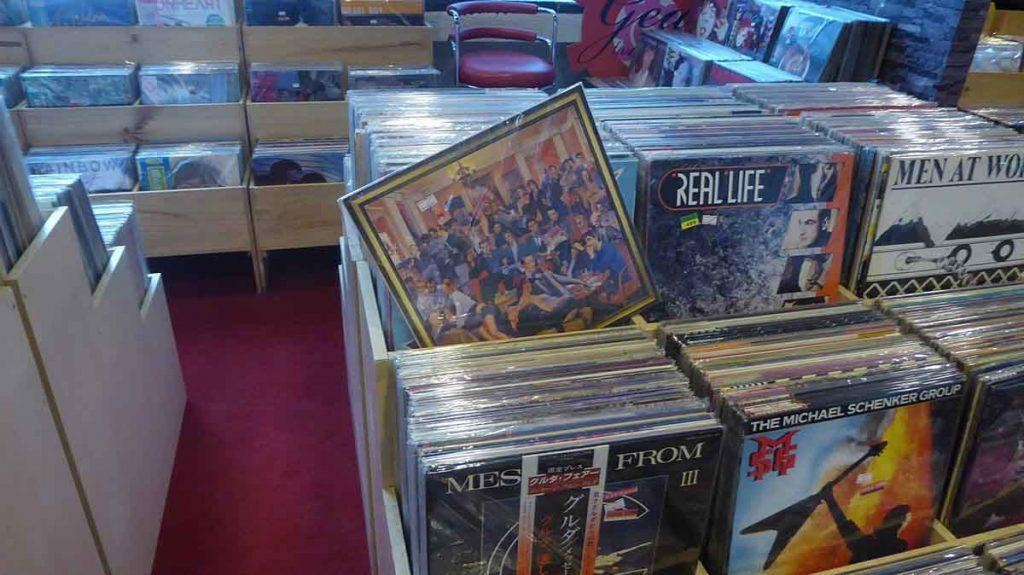 Vinyl Record Shops in Bangkok