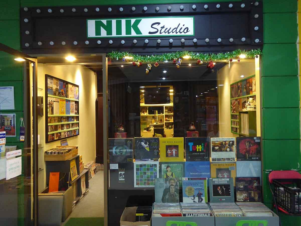 Vinyl Record Shops in Bangkok