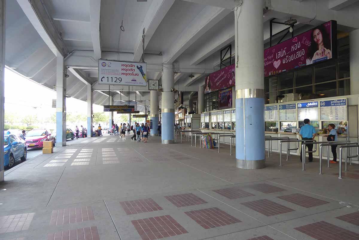 Morchit Bus Station Bangkok