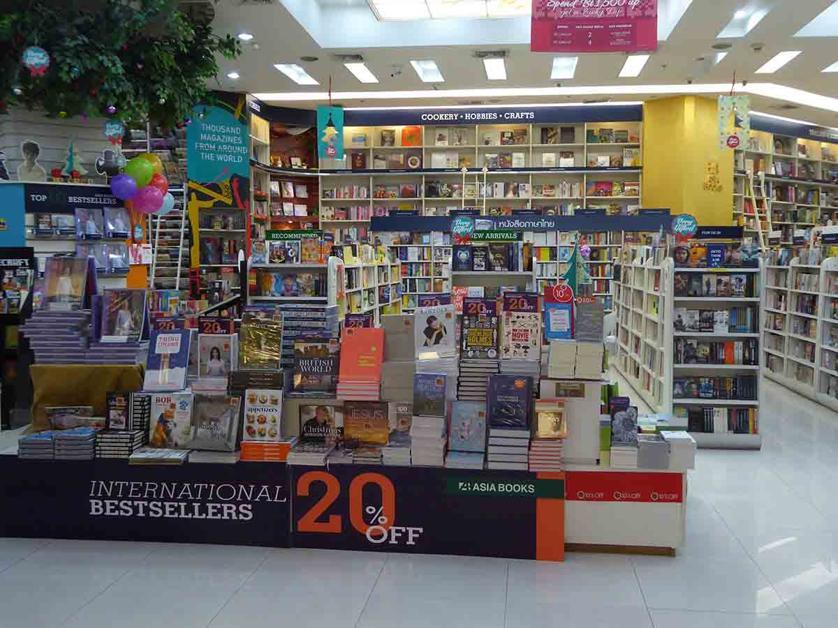 Bookshops in Bangkok