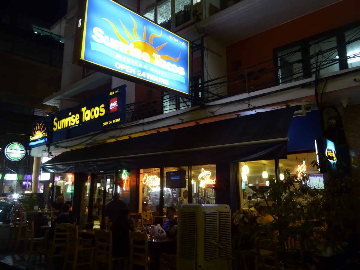 Mexican restaurants in Bangkok