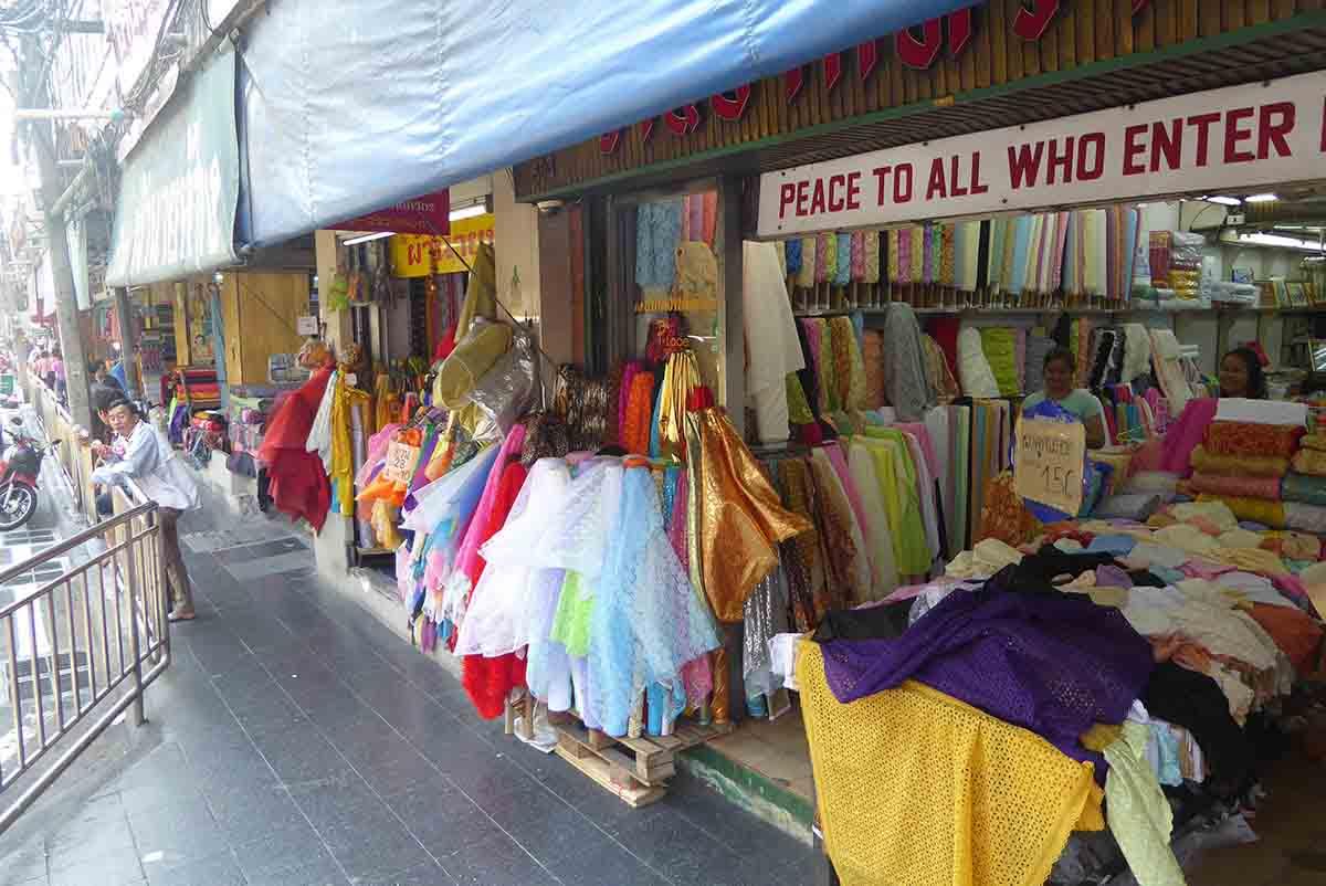 Bangkok Markets A-Z Phahurat Market