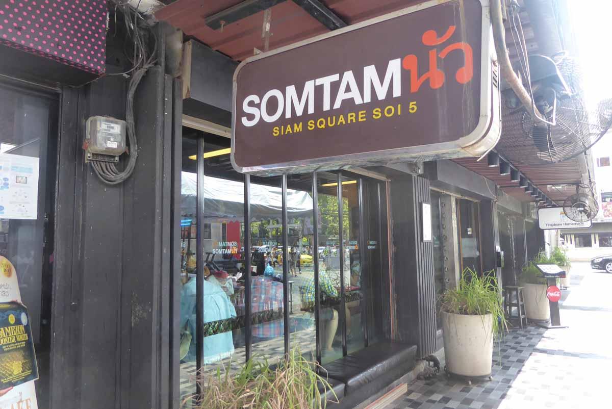 Somtan Nua Restaurant in Bangkok