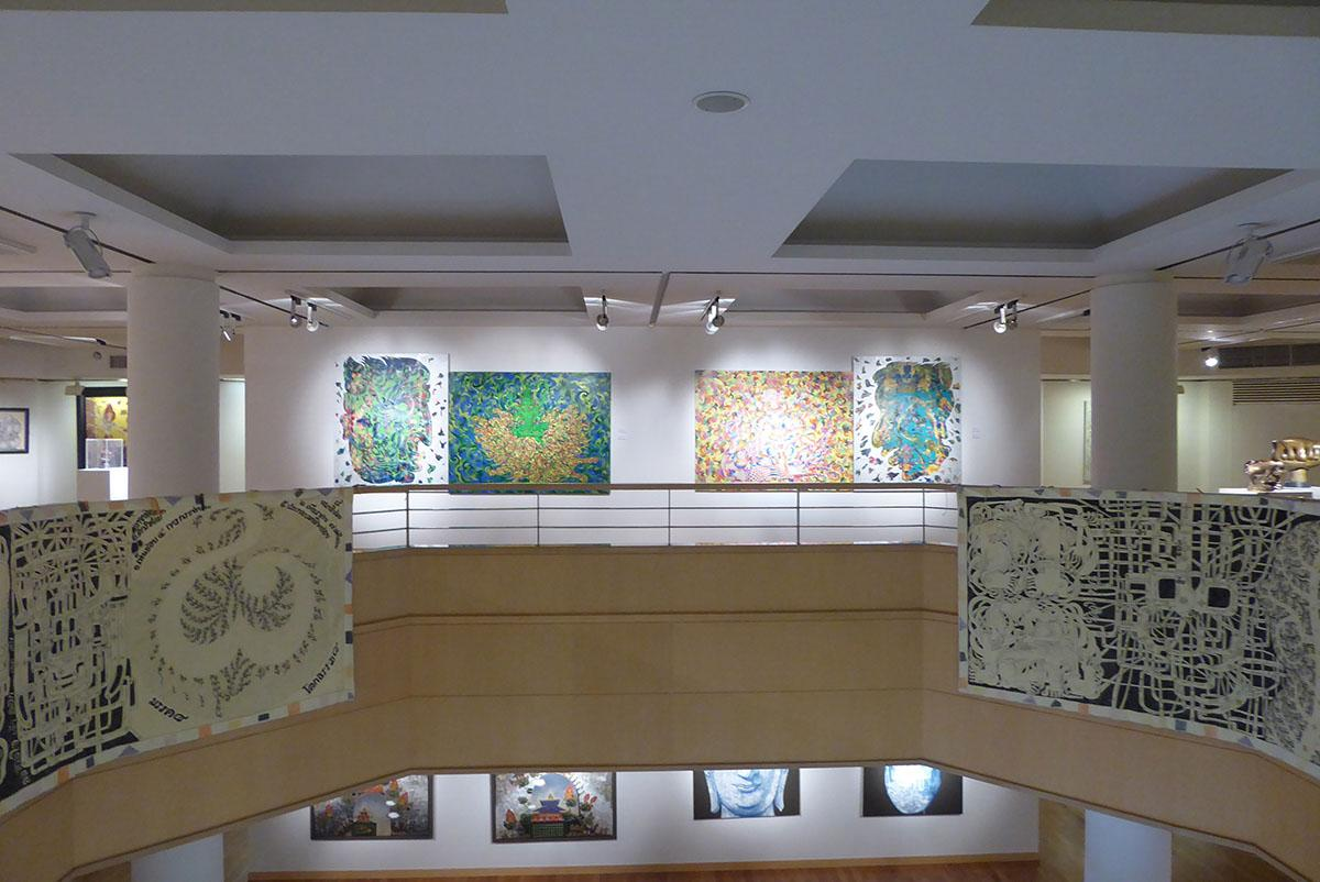 Queen Sirikit Art Gallery, Bangkok.
