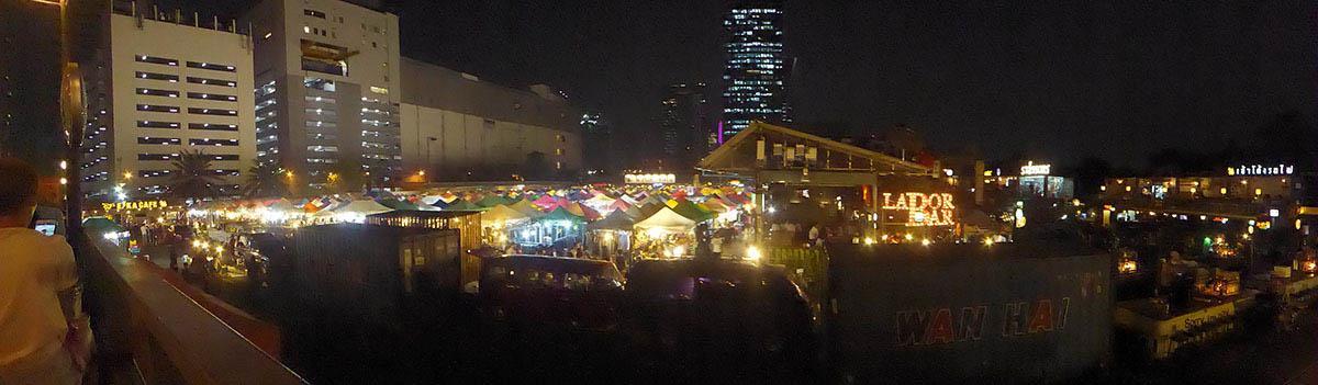 Bangkok Markets A-Z Ratchada Train Night Market