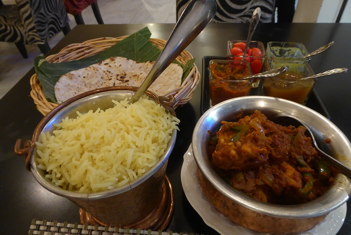 Indian restaurant in Bangkok