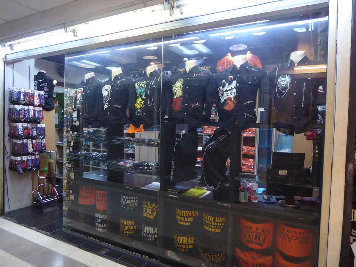 Alternative Punk Biker Rockabilly Retro T Shirt Clothing stores in Bangkok
