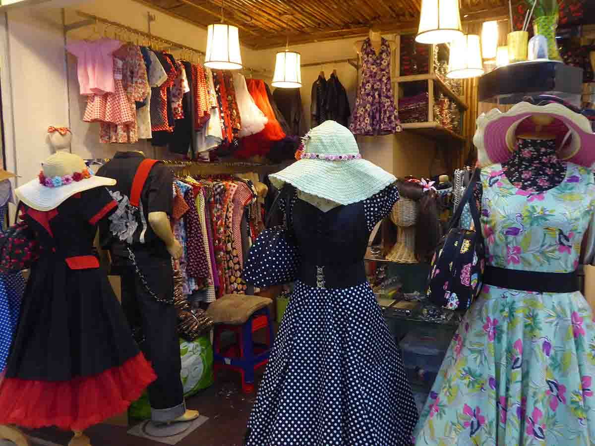 Alternative Clothing Stores in Bangkok