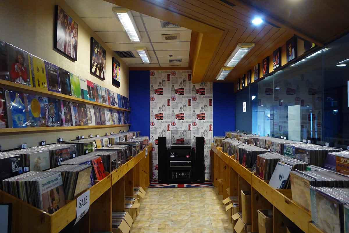 Vinyl Record Stores in Bangkok