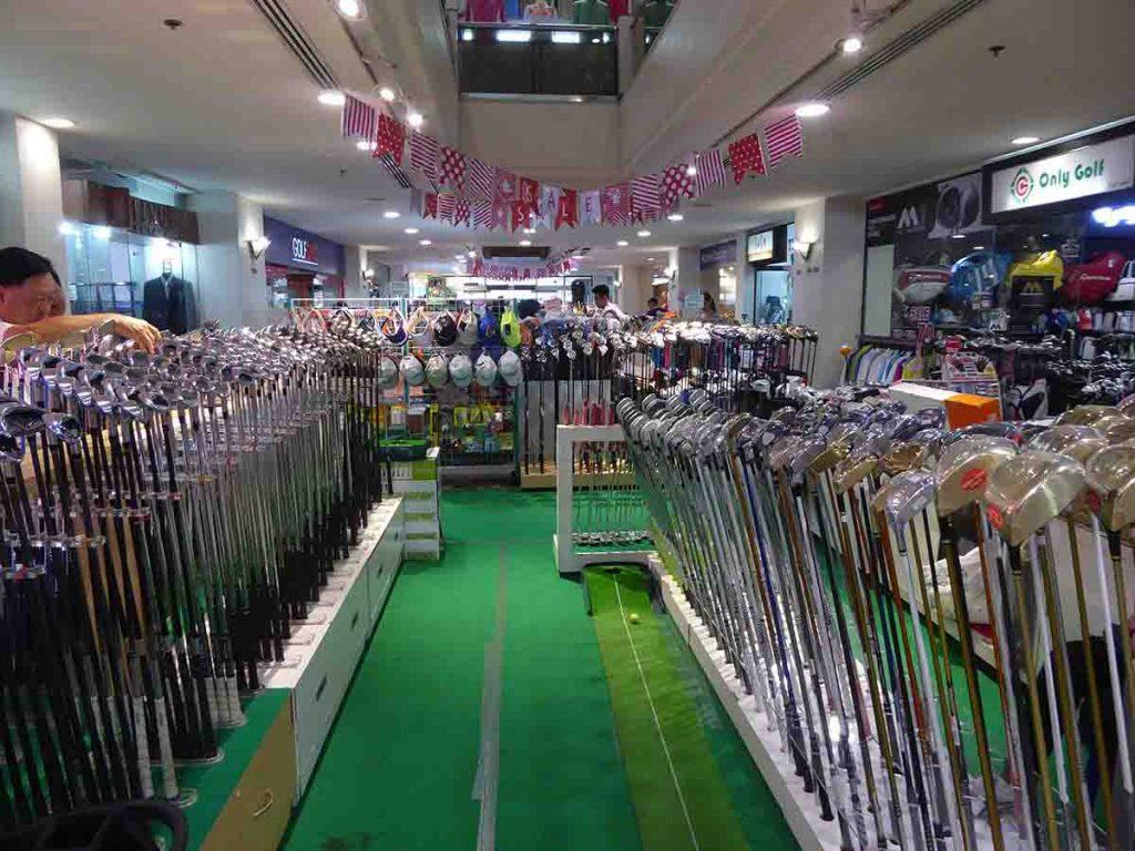 where to buy golfing equipment in Bangkok