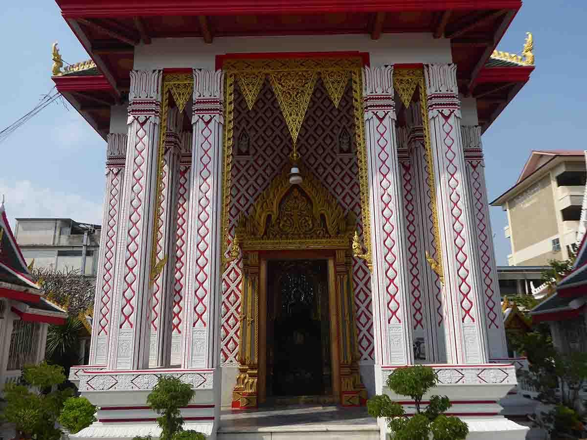 Wat Chakrawat in Chinatown Bangkok
