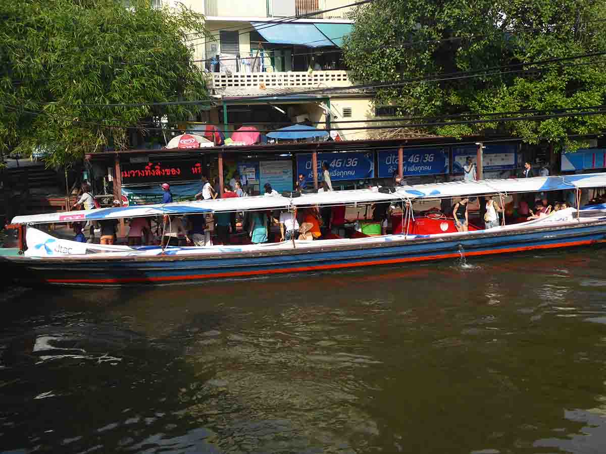 Canal transport in Bangkok