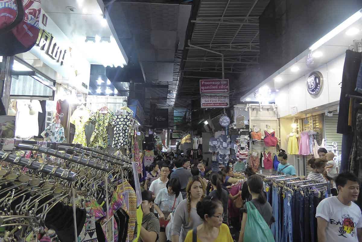 Bangkok Markets A-Z Pratunam Market