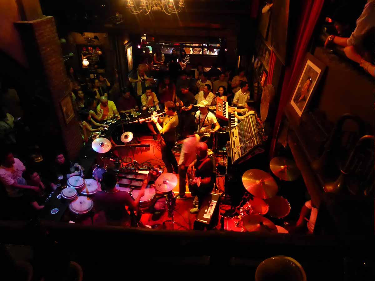 Saxophone Pub Phaya Thai Bangkok