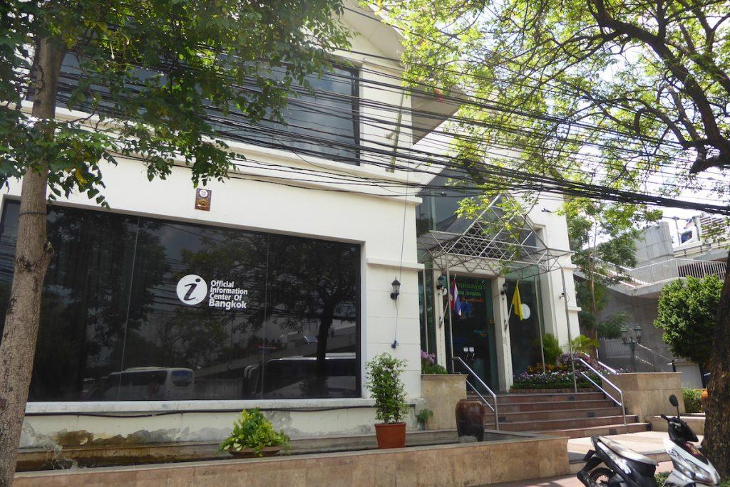 Tourist Information Office in Bangkok