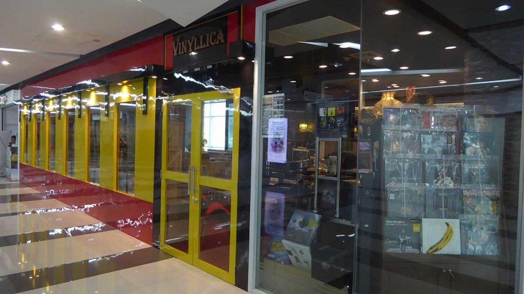 Viny Record Store in Bangkok