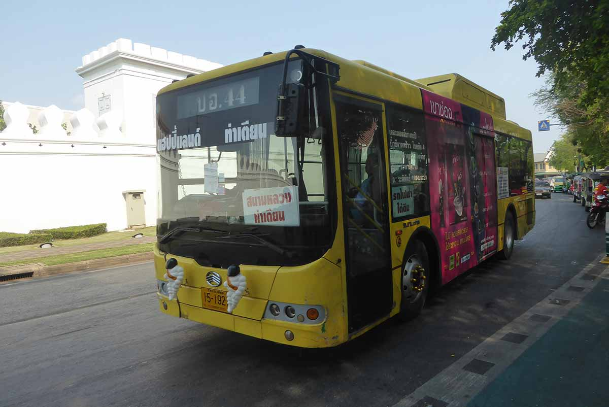 Bangkok Bus Travel