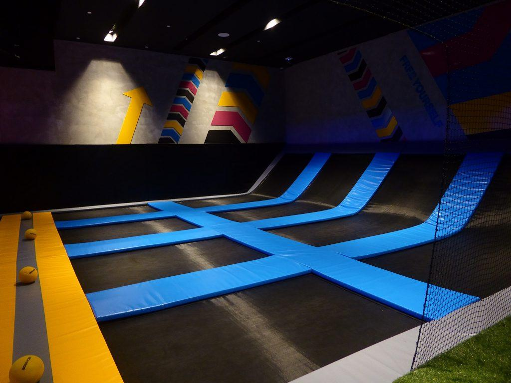 Bounce trampoline park Bangkok Children's Entertainment in Bangkok