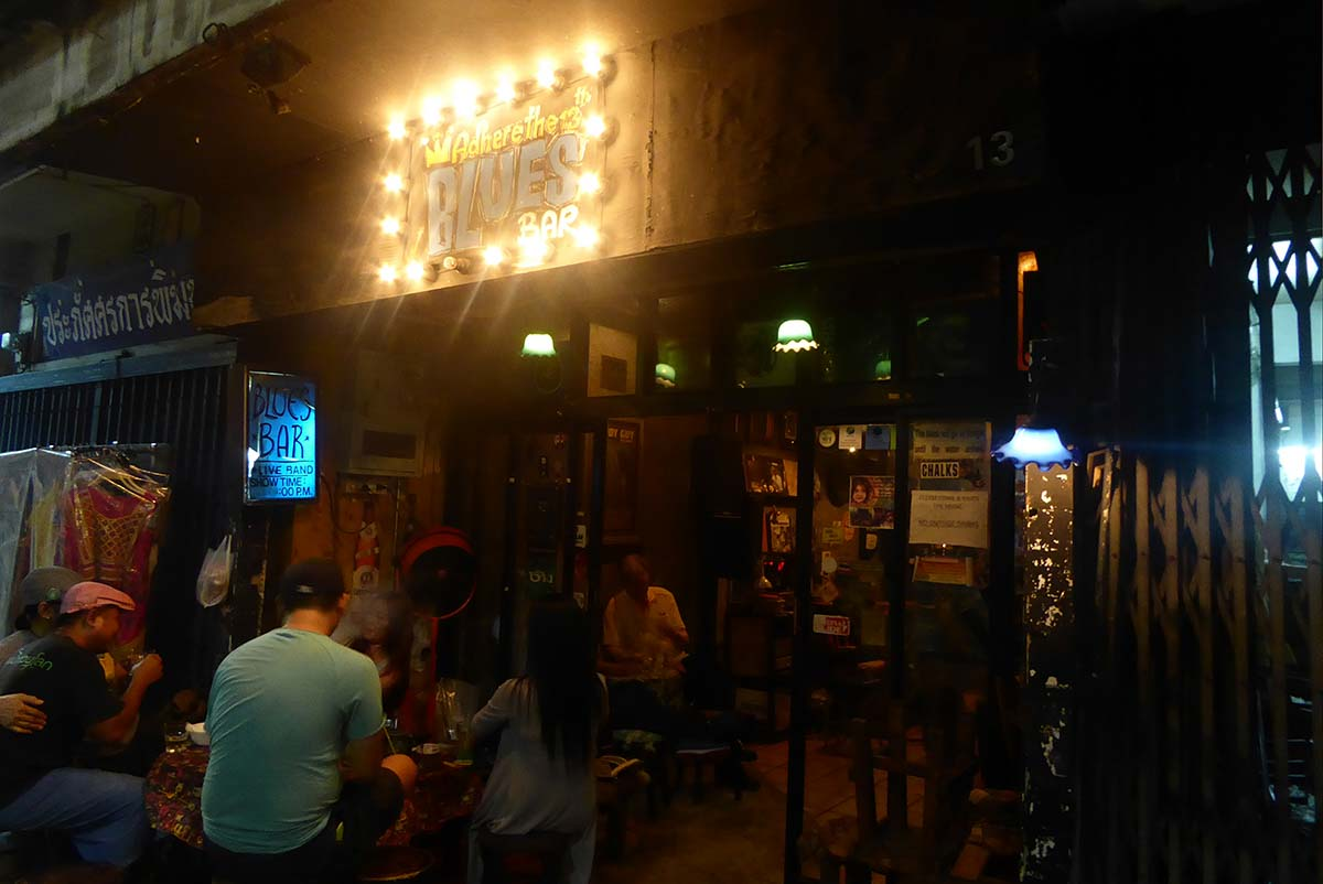 Adhere the 13th Blues Bar Bangkok