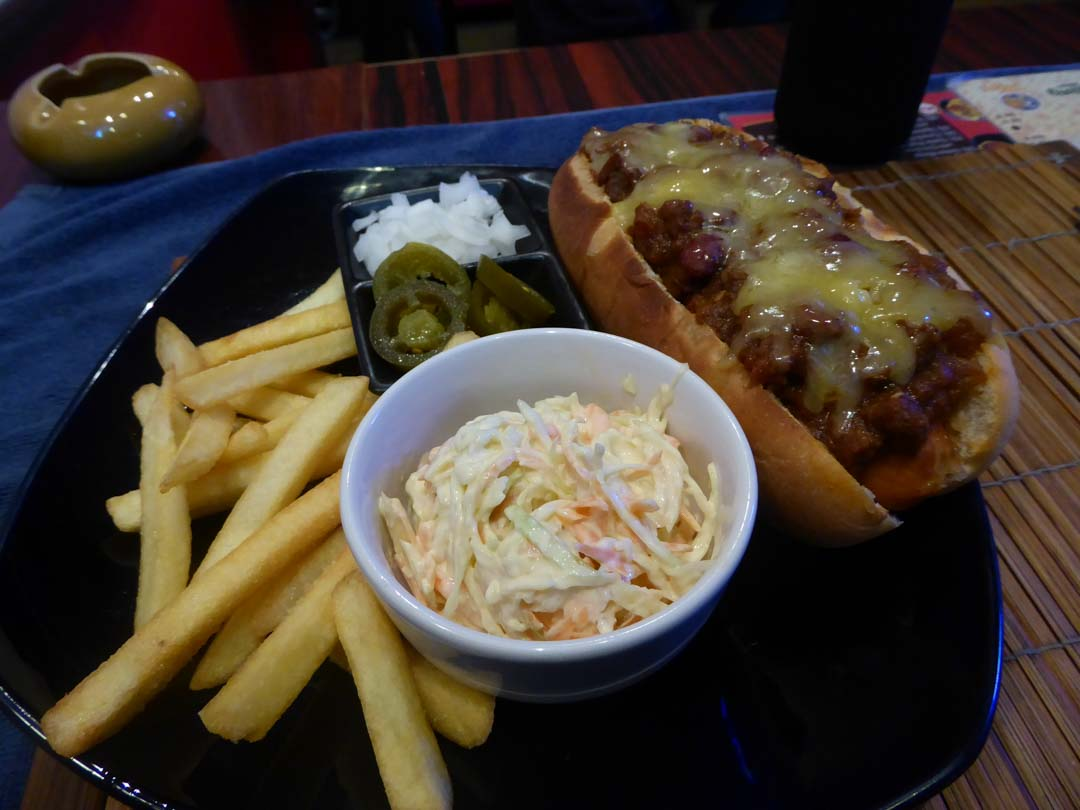 The Best Chili Dog in Bangkok