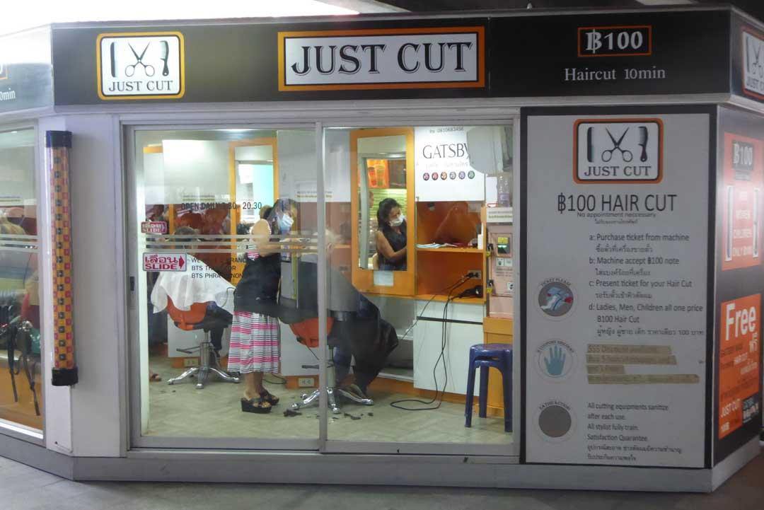 Where to get a haircut in Bangkok