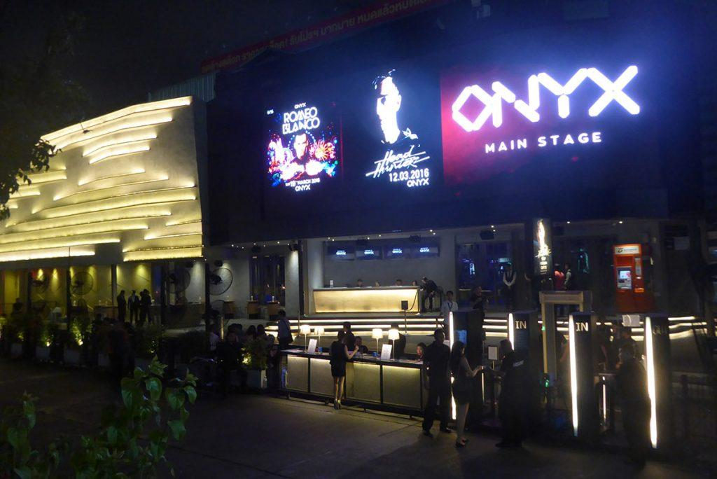 ONYX nightclub in RCA Bangkok.