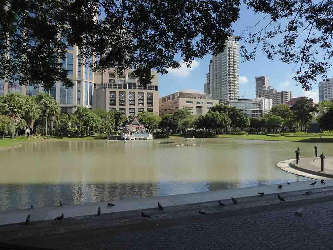 Benjasiri Park in Bangkok