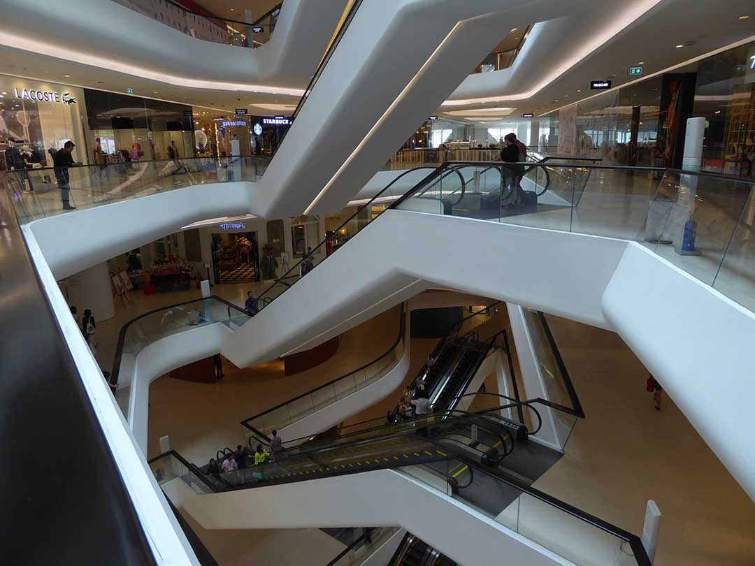 shopping malls in Bangkok Central Embassy