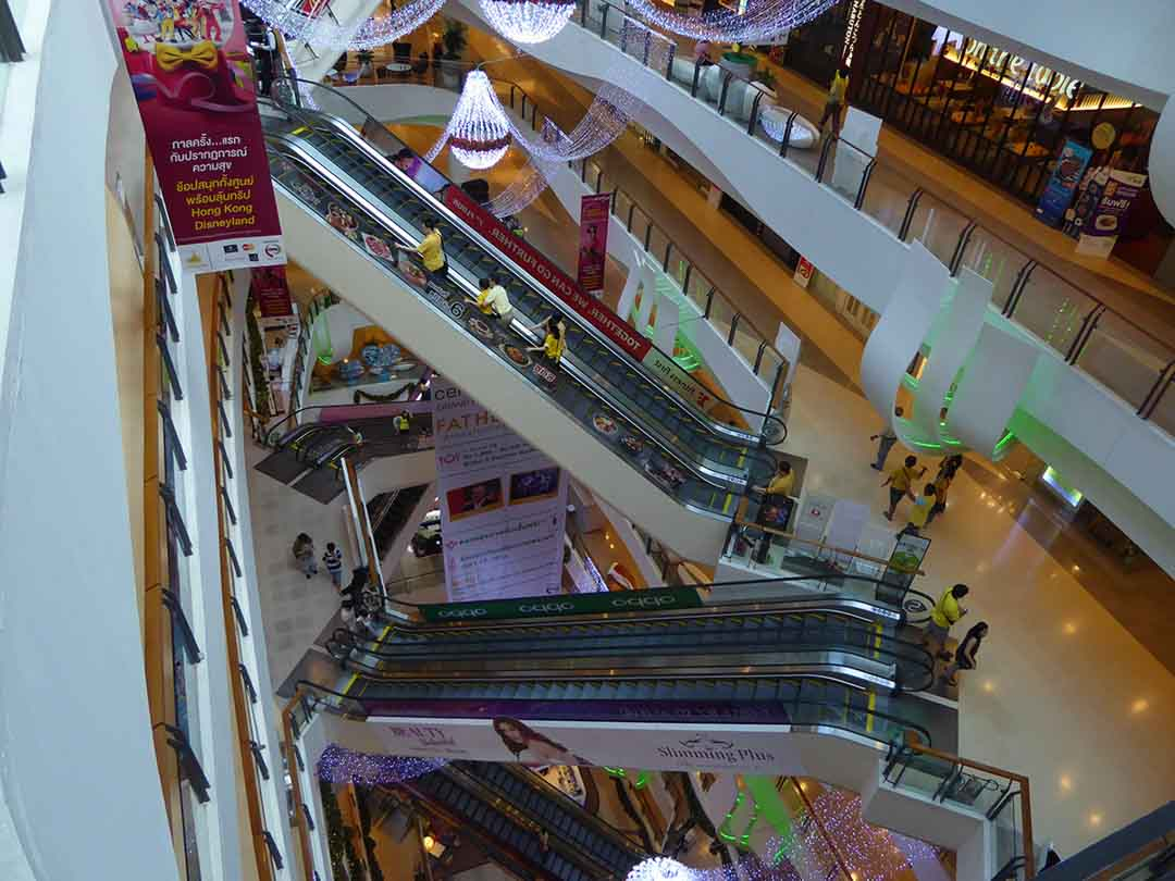 Shopping malls in Bangkok - central plaza rama 9