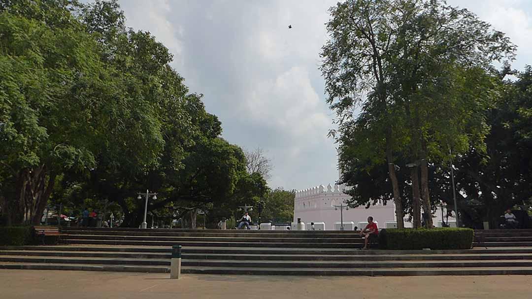 Santichai Prakarn Park in Bangkok
