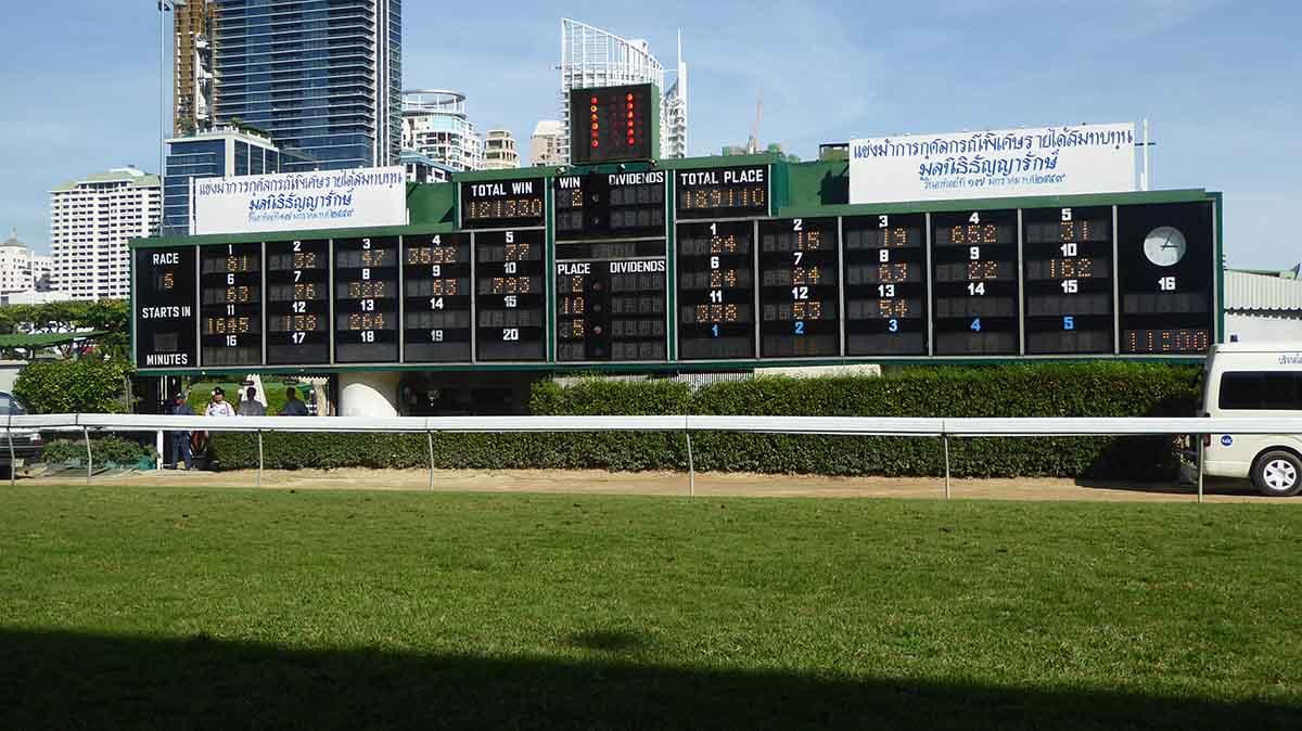 horse racing in Bangkok