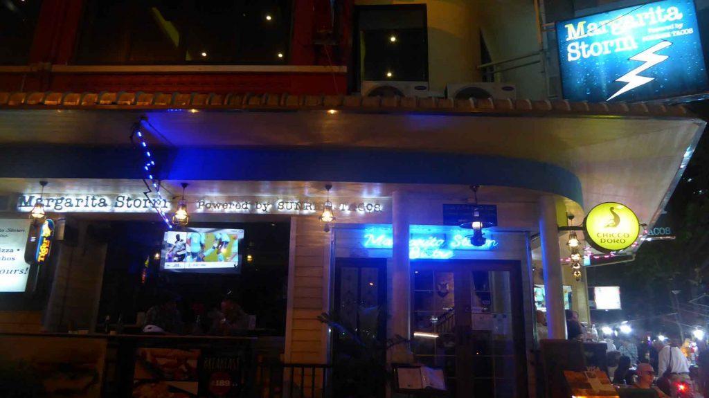 Margarita Storm Bar in Bangkok