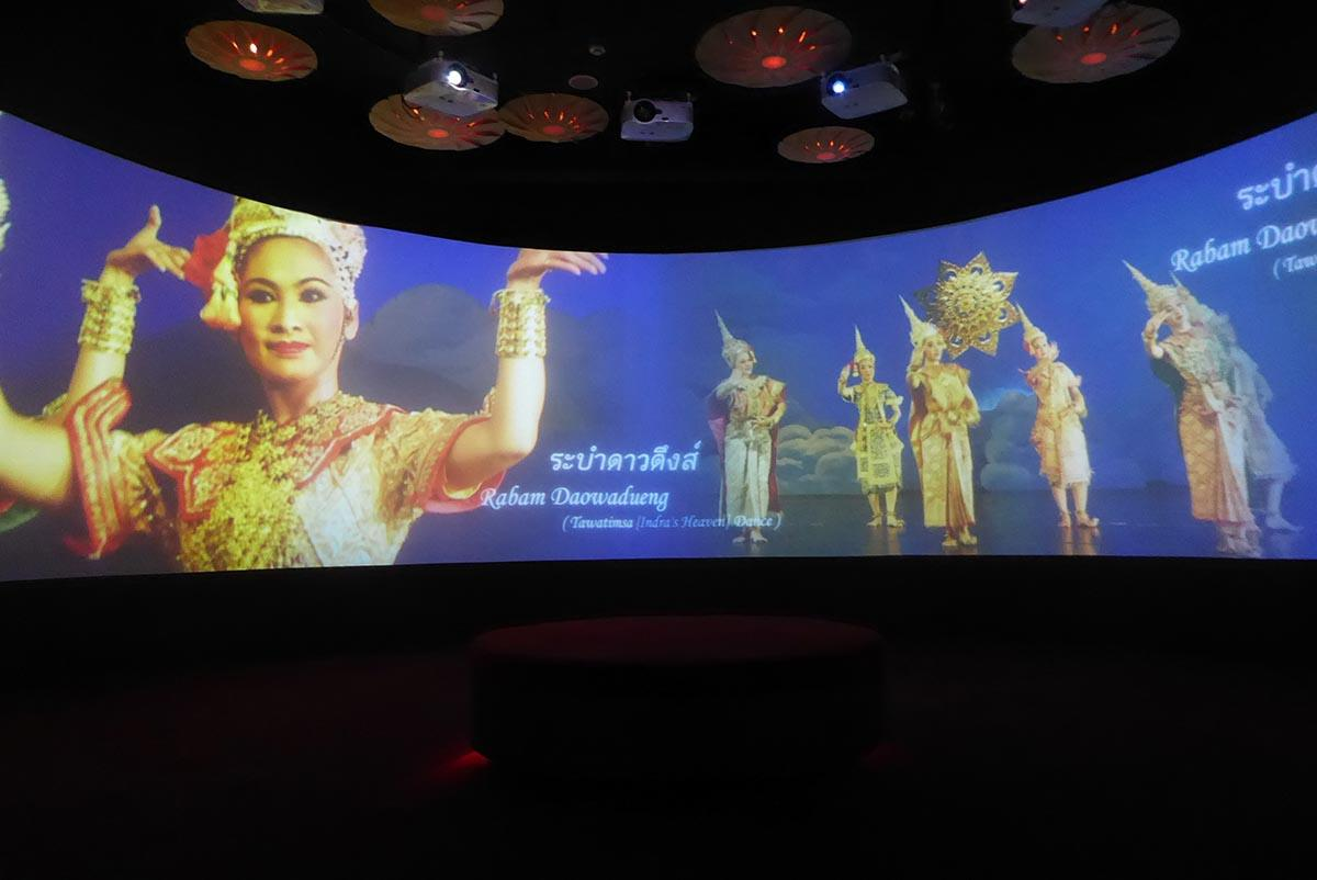 Rattanakosin Exhibition Hall Bangkok. Museums in Bangkok.