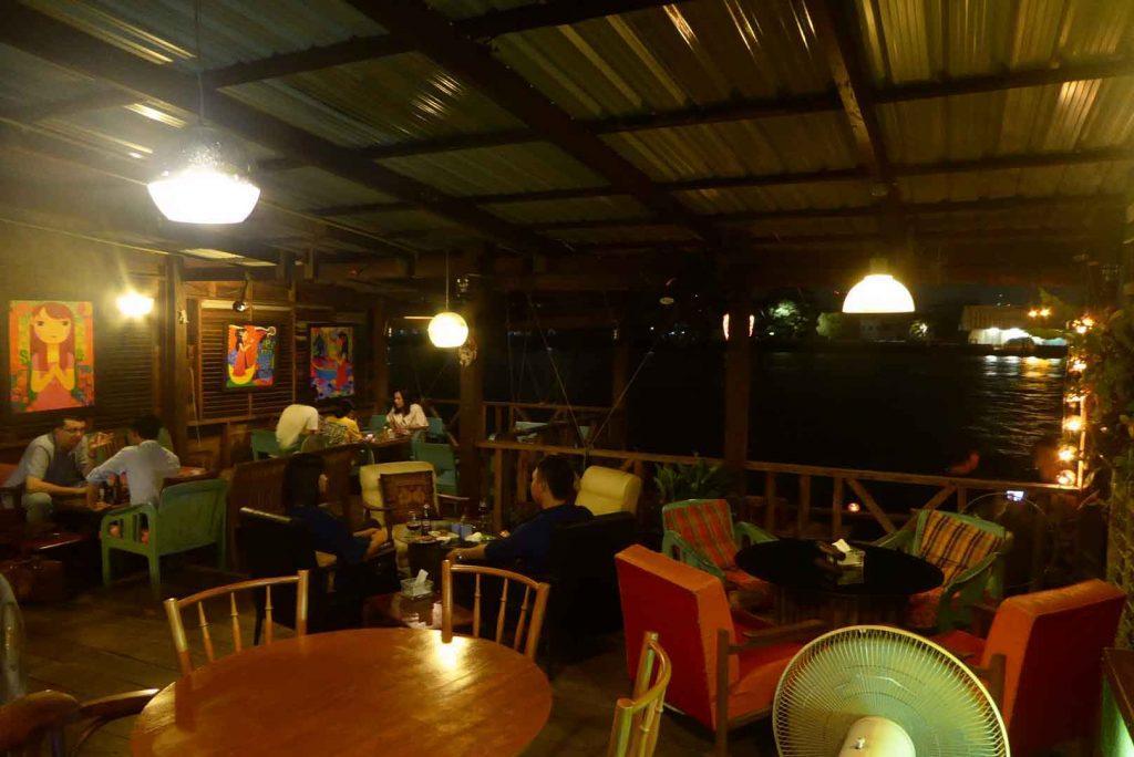 Samsara Riverside Bar in Bangkok