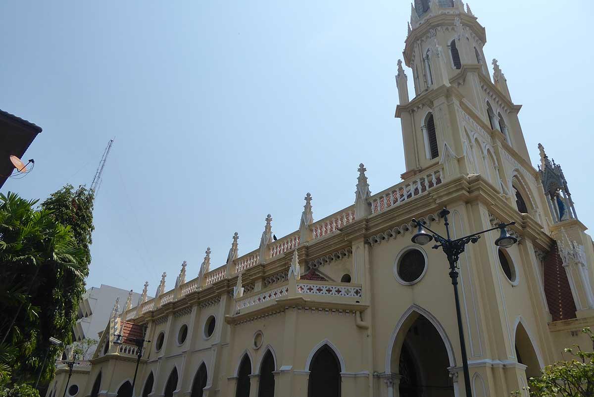 Holy Rosary Church in Bangkok