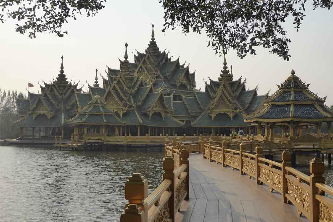 Ancient Siam Ancient City Muang Boran in Bangkok