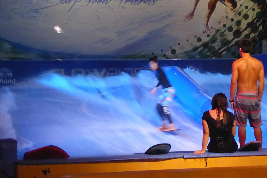 Surfing in Bangkok