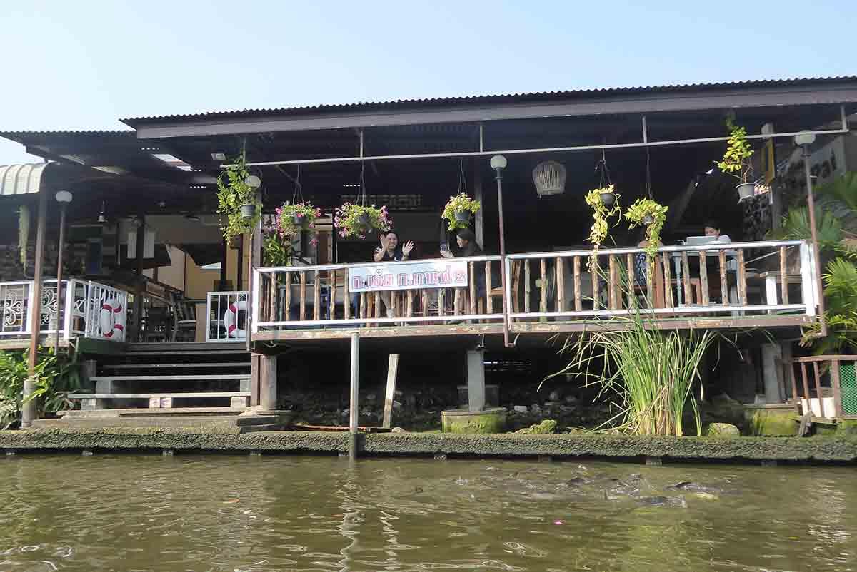 Taling Chan Floating Market Bangkok