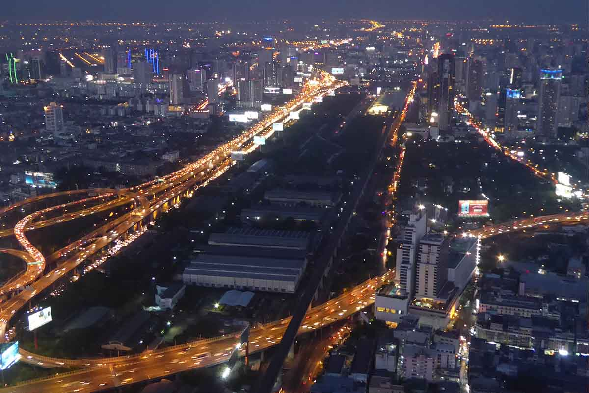 Baiyoke Tower Observation Deck Bangkok