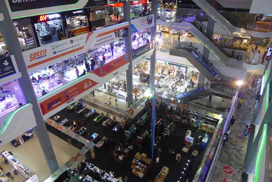 Pantip Plaza Computer Mall in Bangkok