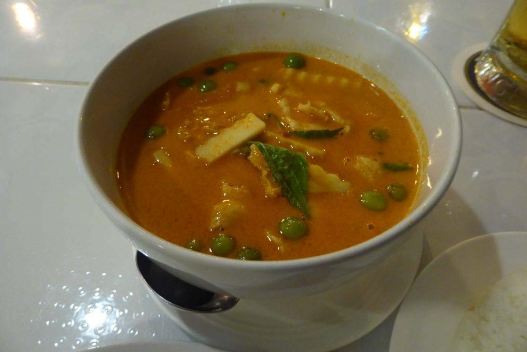 Red Curry at Steve Cuisine Bangkok