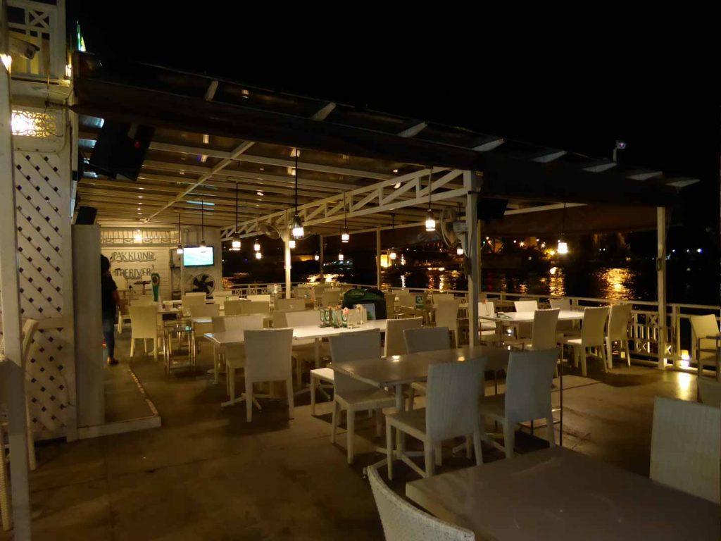 Pak Klong@the river restaurant in Bangkok