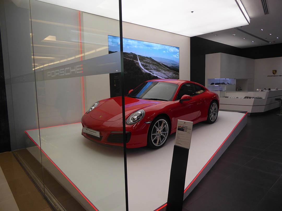 Porsche at Siam Paragon in Bangkok