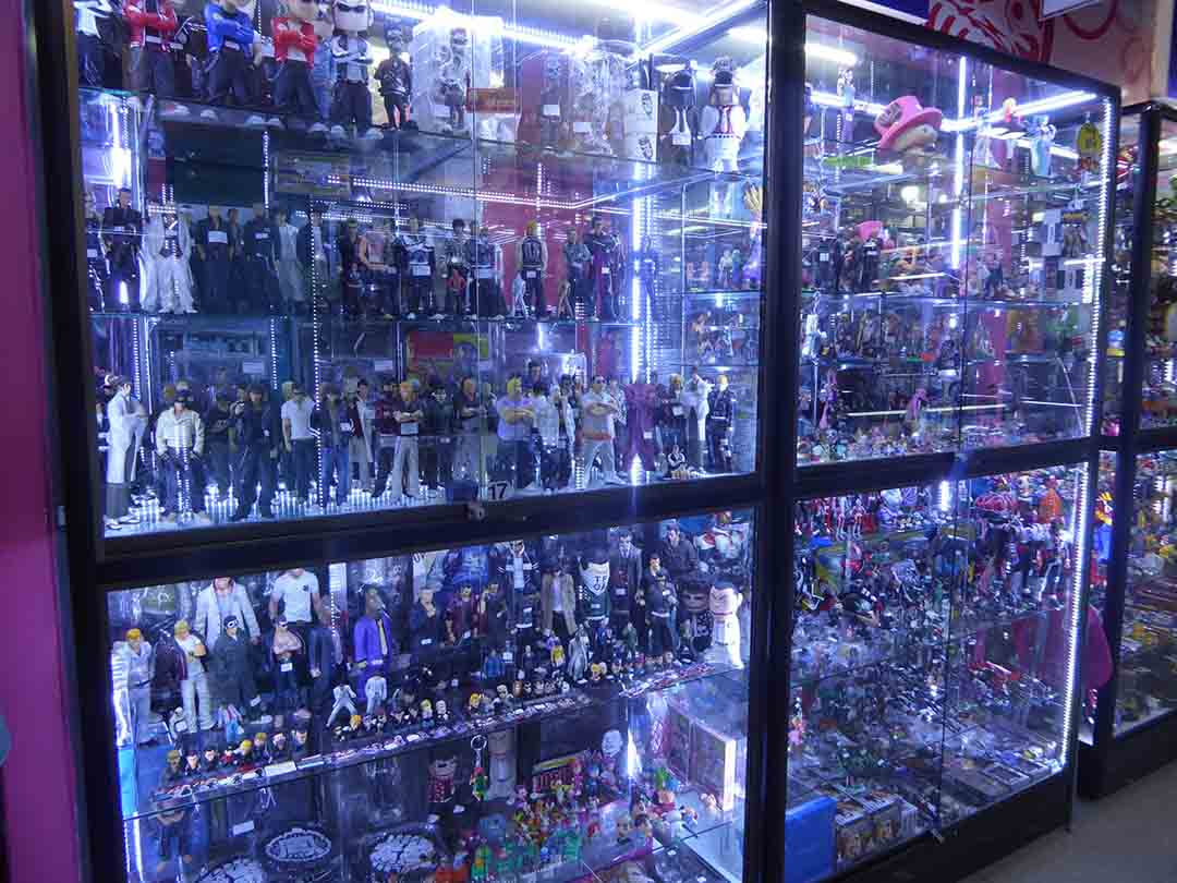 Toys and collectibles in Bangkok Shopping in Bangkok