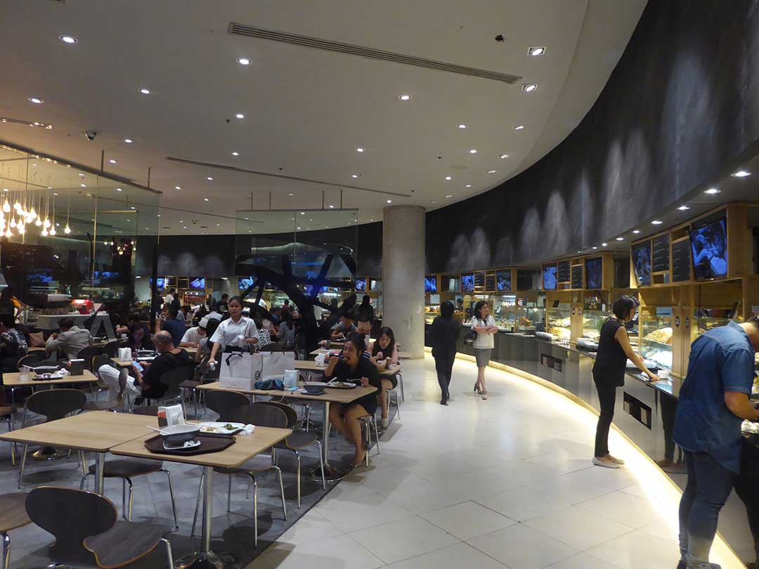 The Food Court at Siam Paragon