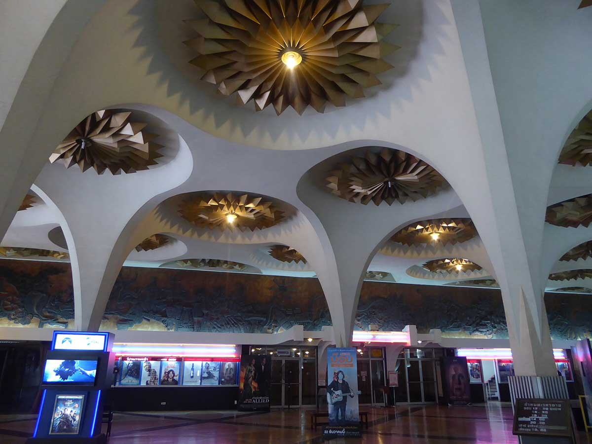 Cinemas in Bangkok - Classic vintage cinema