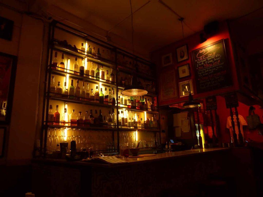 WTF Gallery bar in Bangkok