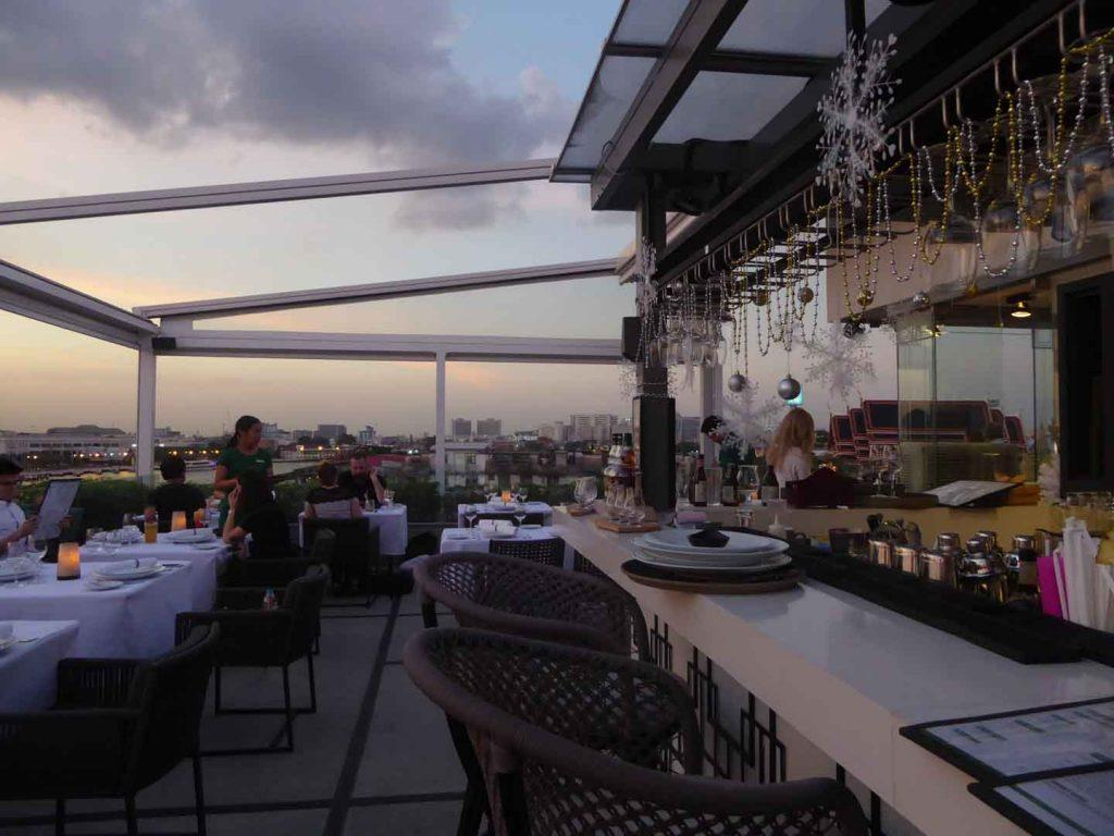 Above Riva Bar Restaurant at Riva Suriya